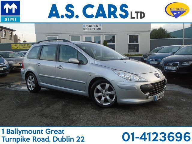 2008 Peugeot 307 1.6 HDI ESTATE, Price: €2,495 1.6 Diesel for sale ...