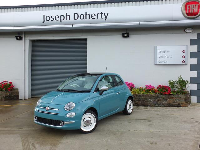 2018 fiat 500 anniversario price 17 750 1 2 petrol for sale in donegal on. Black Bedroom Furniture Sets. Home Design Ideas