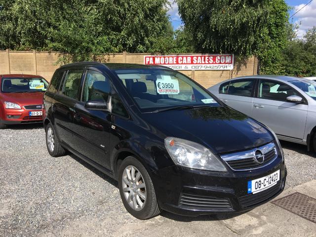 2008 Opel Zafira 16 16v Club Price 3500 16 Petrol For Sale In