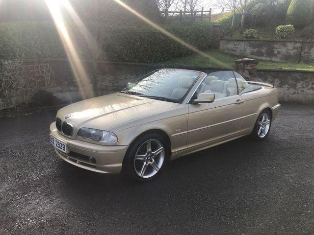 2000 BMW 3 Series 323i 2dr 2 5 Convertible Manual Only 43,000 miles