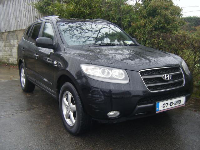 2007 hyundai santa fe 2.2 crdi diesel 4wd 7seater, price: €1,850