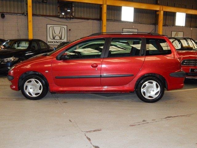 2003 Peugeot 206 1.4 GLX ESTATE // ONE OWNER CAR // LOW MILEAGE ...